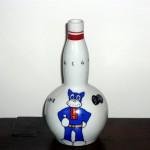 バヤリースの陶器製 のらくろ花瓶