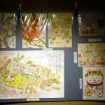 絵手紙展 寺井直江・協賛 町家案山子・タンポポの会-23